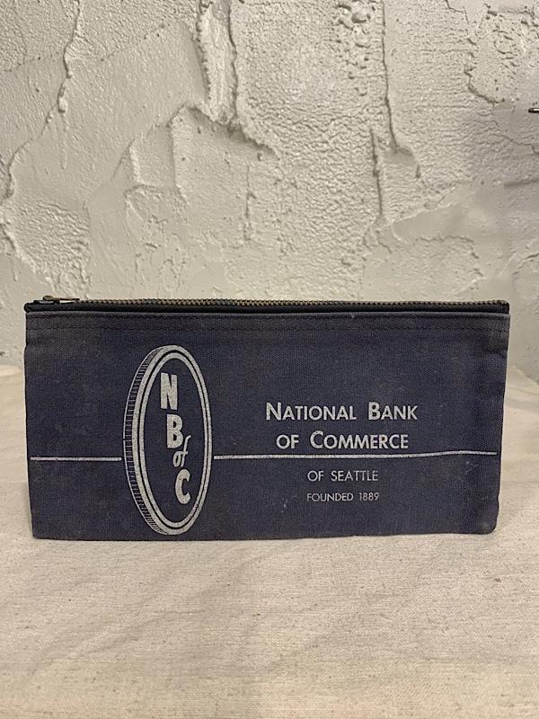 "BANK BAG "" NATIONAL BANK OF COMMERCE """