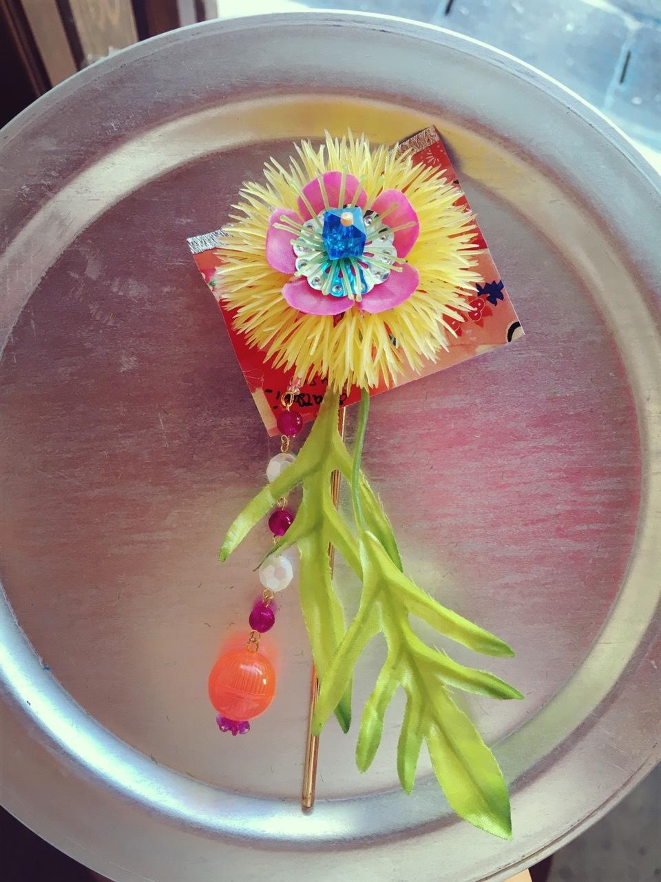 お花かんざし