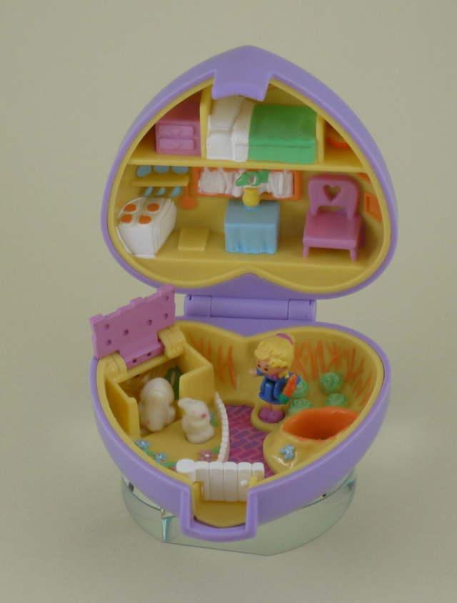 ポーリーポケット ウサギのおうち 1993年 完品