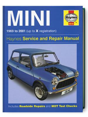 ミニ・1969-2001・サービス&リペア・マニュアル