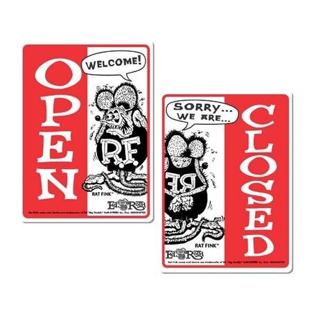 MOON Rat Fink メッセージ ボード OPEN & CLOSED