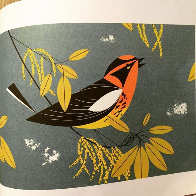イラスト集「Charles Harper's Birds & Words」 - 画像2