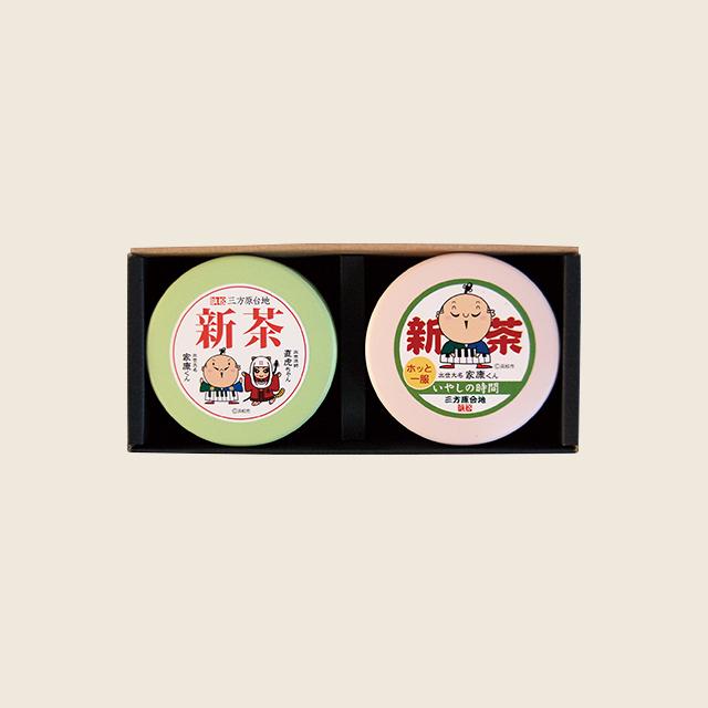 プチ缶ギフト(大走り50g・初摘50g)