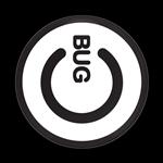 ゴーバッジ(ドーム)(CD0832 - BUG POWER WHITE) - 画像1