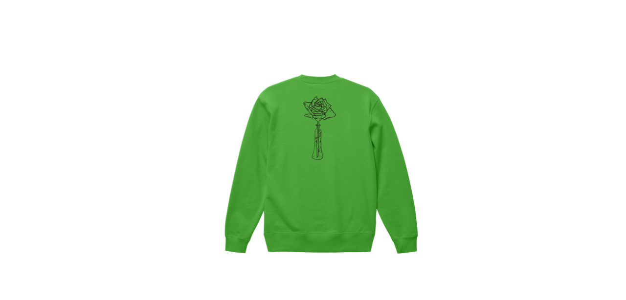 coguchi rose sweat (GRN)