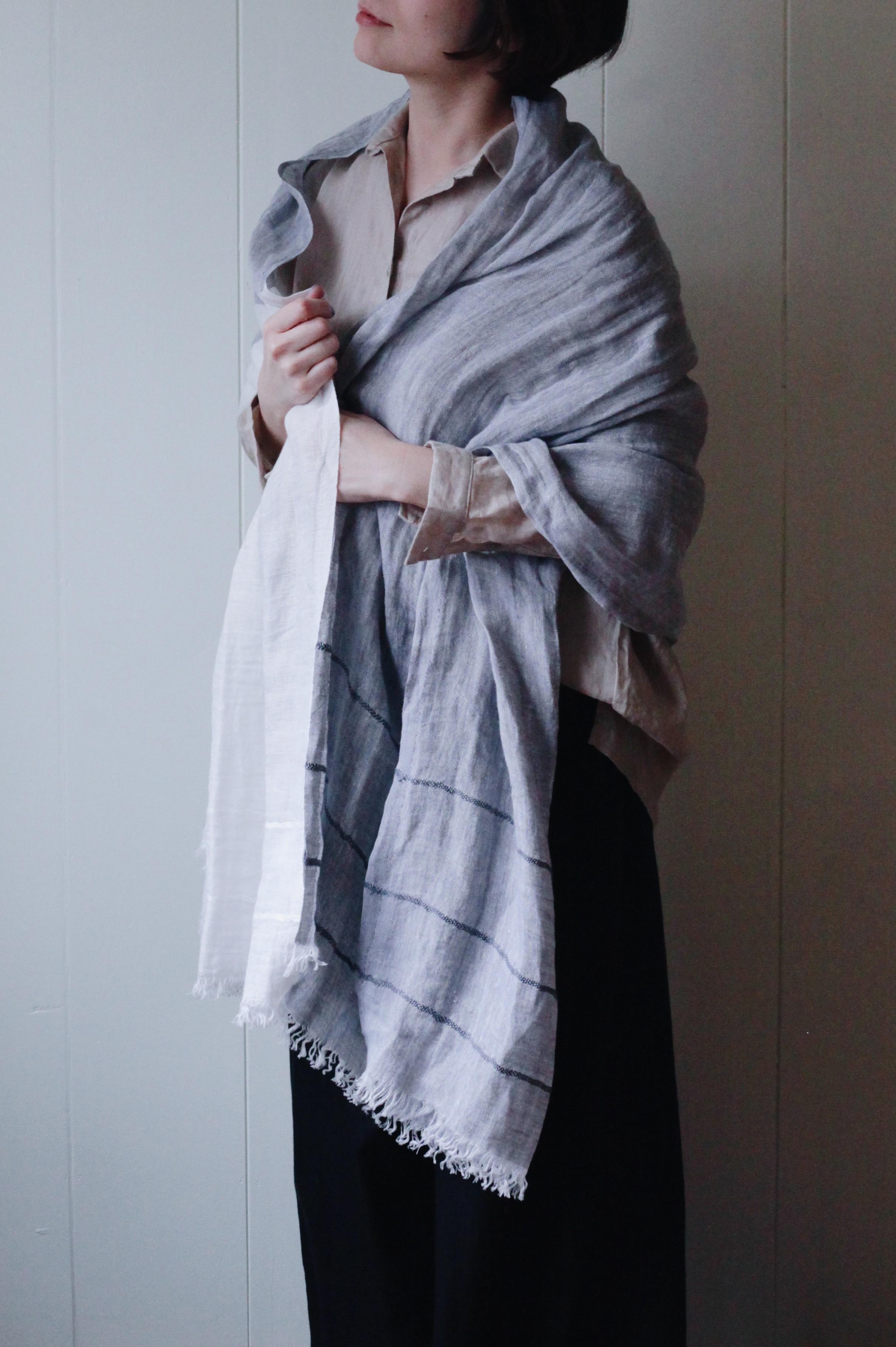【LAPUAN KANKURIT(ラプアンカンクリ)】TSAVO scarf (70x200cm)