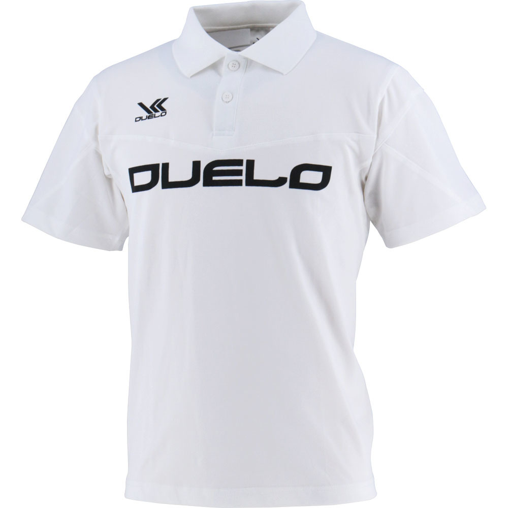 D-009 Polo Shirt WHT