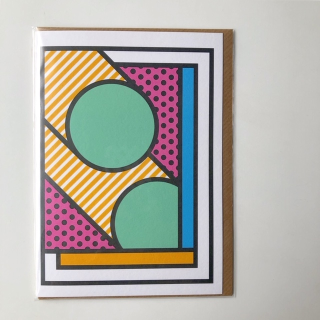 """East End Prints """"We Will Leave it to Chance """" by SUPERMUNDANE アートカード"""