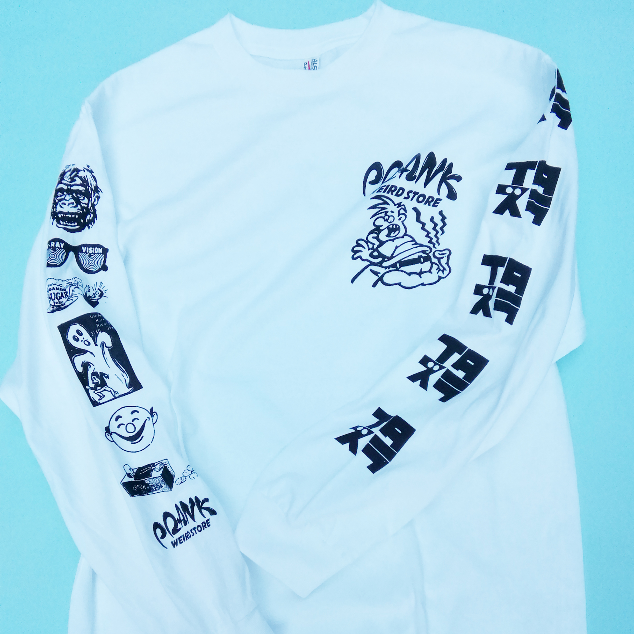 イタズラLONG SLEEVE TEE
