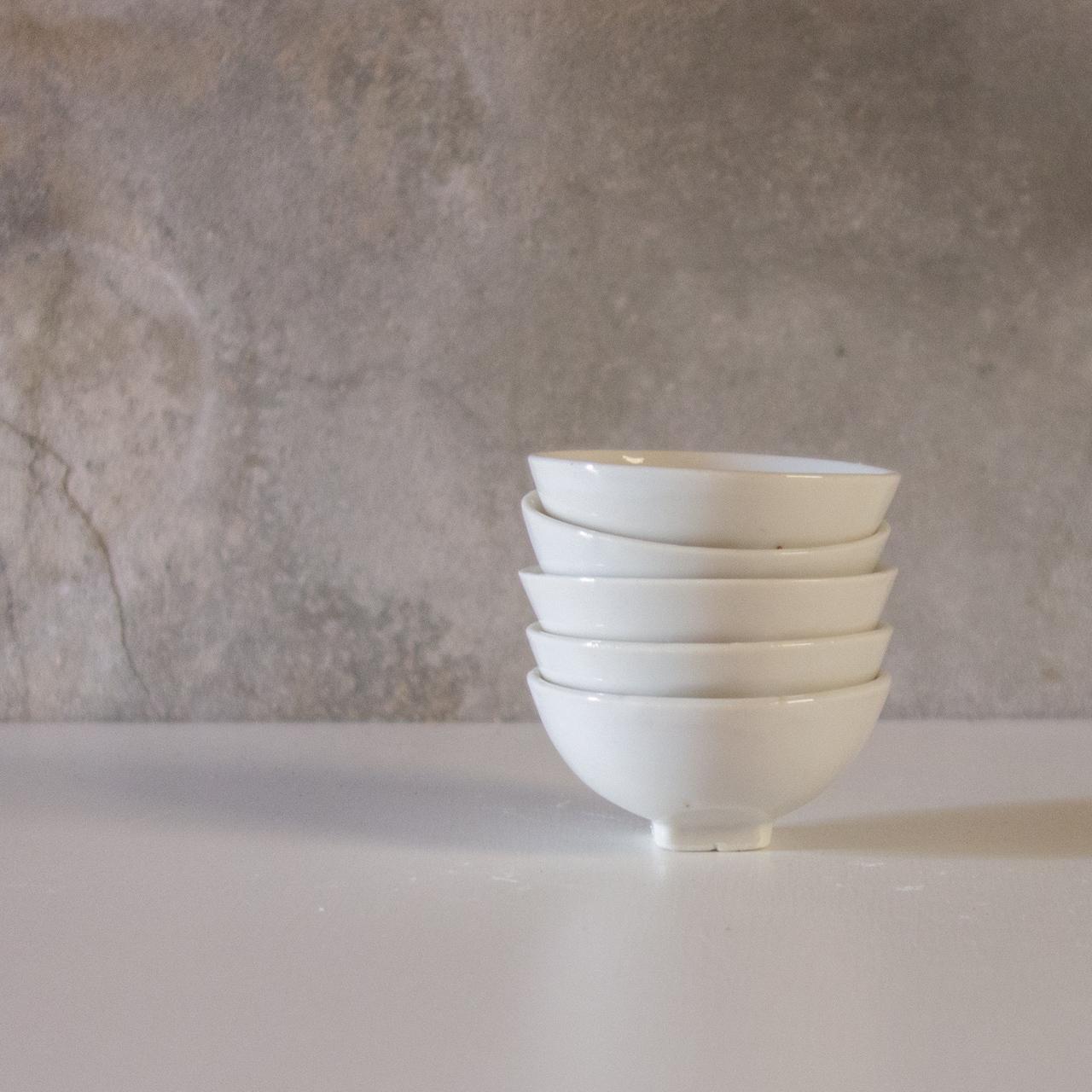 白磁小皿 5set