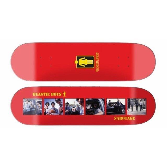 Beastie Boys × Spike Jonze × Girl #Sabotage Skateboard Deck