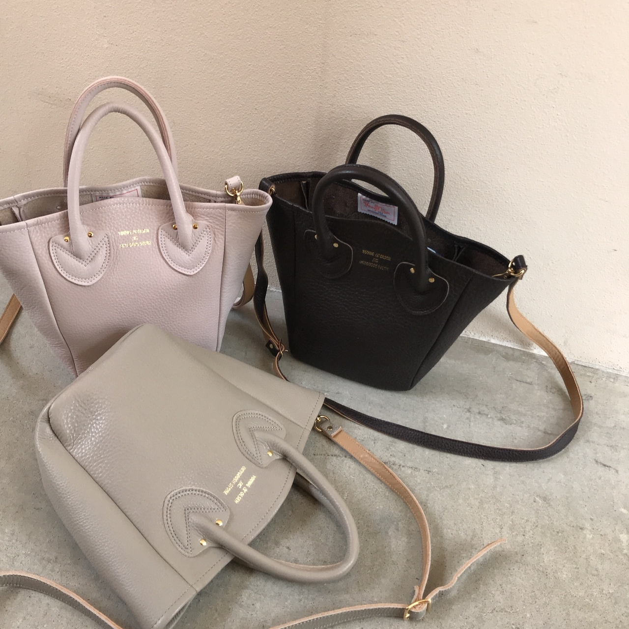 YOUNG&OLSEN - PETITE LEATHER TOTE