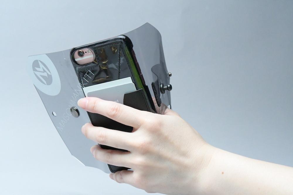 送料無料・ SE2/8/7/6S/6 iphone case □スモークグレー□ - 画像4