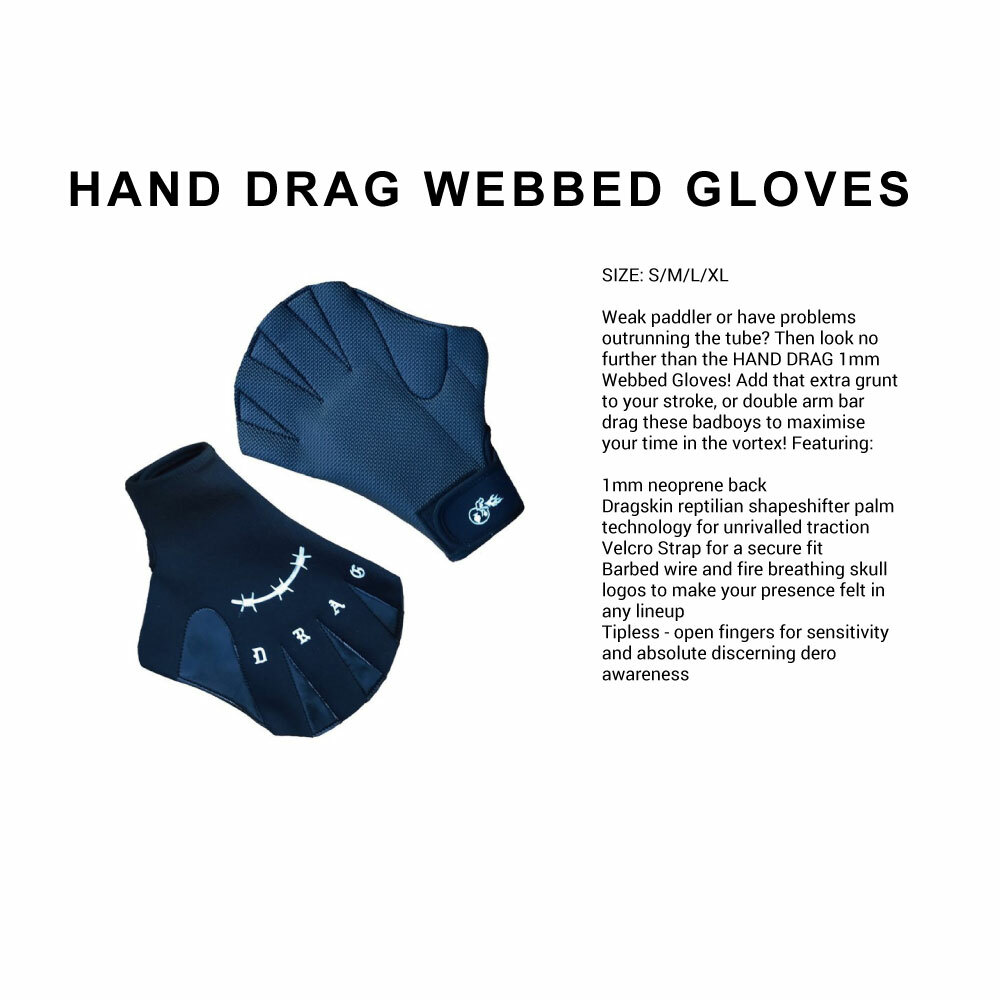 HAND DRAG WEBBED GLOVES