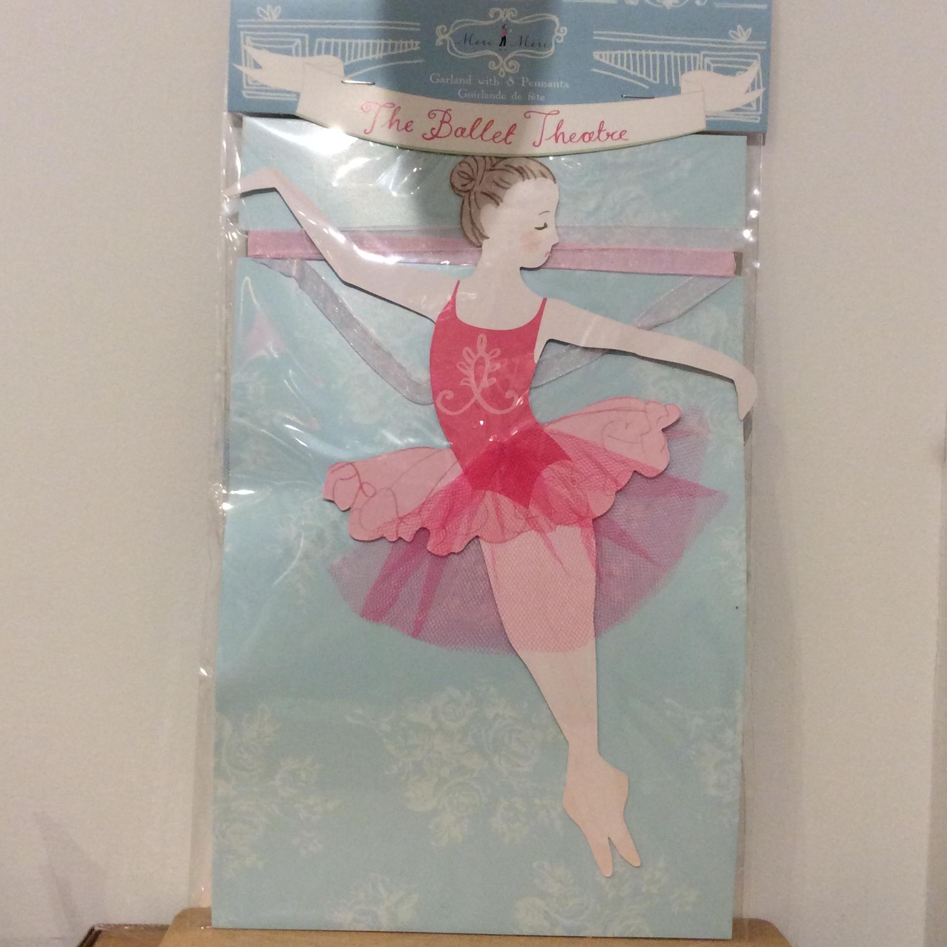 【meri meri】 Ballet garland