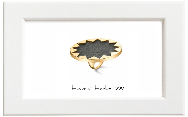 House of Harlow1960/ハウス・オブ・ハーロウ1960 Sunburst Cocktailリング