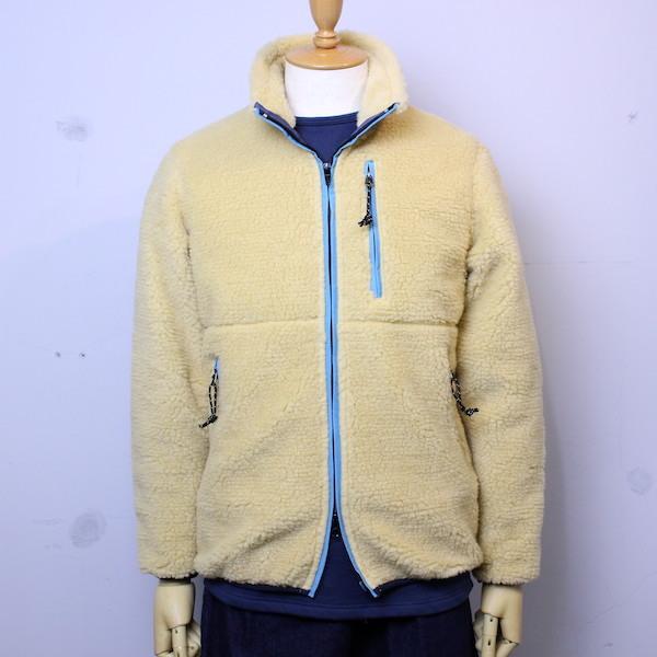 "Oregonian Outfitters(オレゴニアン アウトフィッターズ) ""Tillamook Fleece Jacket"" クリーム×ターコイズ"