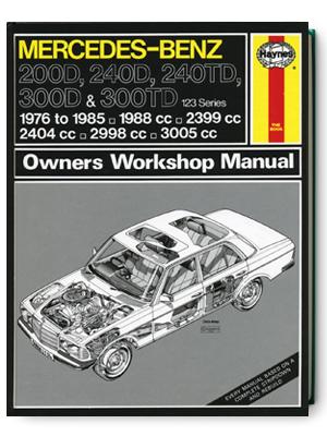 メルセデス・ベンツ・200D・240D・240TD・300D・オーナーズ・ワークショップ・マニュアル