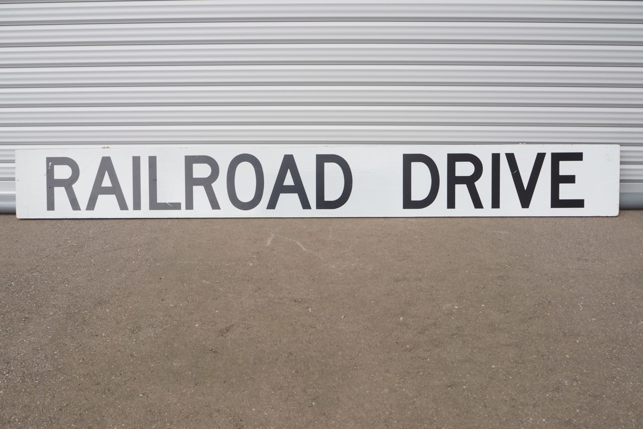 品番1274 RAIL ROAD 反射看板 011