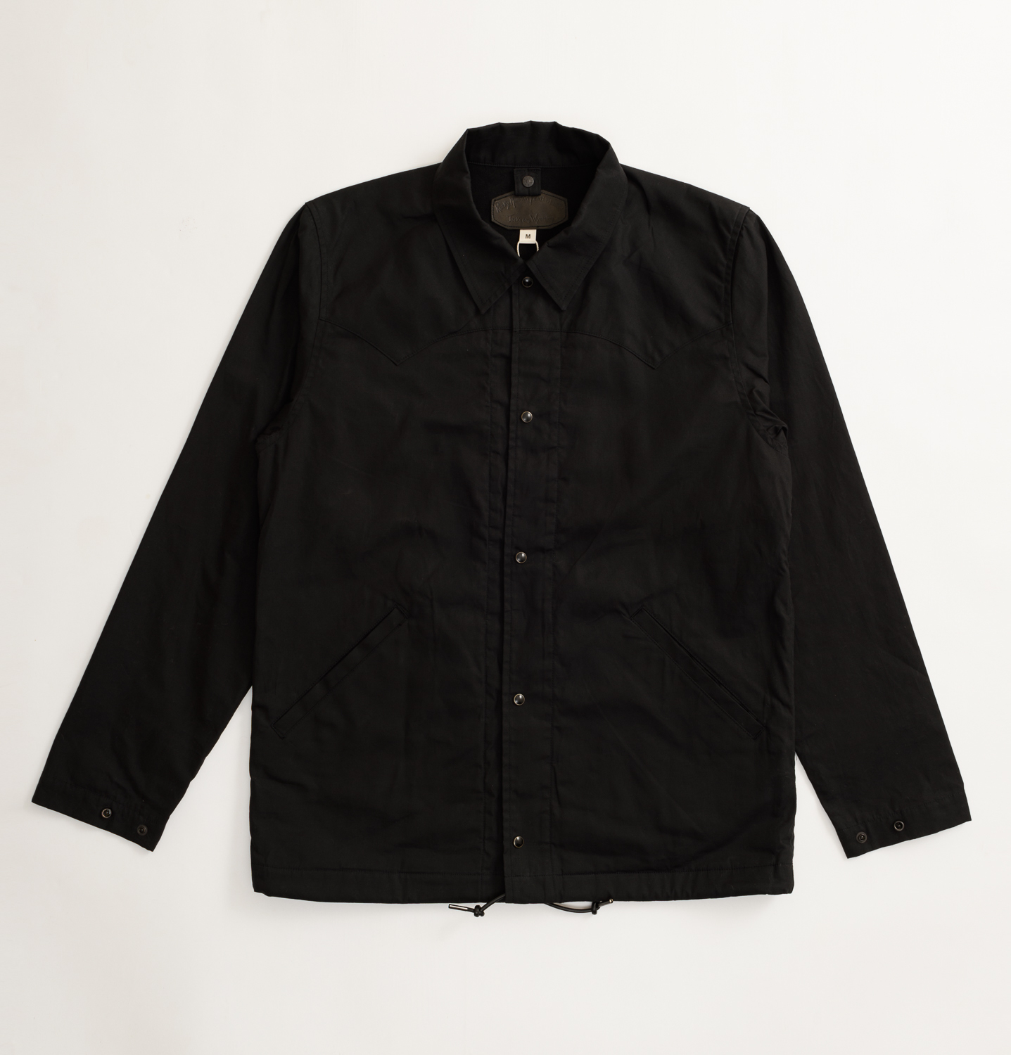 【SON OF THE CHEESE】RM COACH JKT(BLACK)