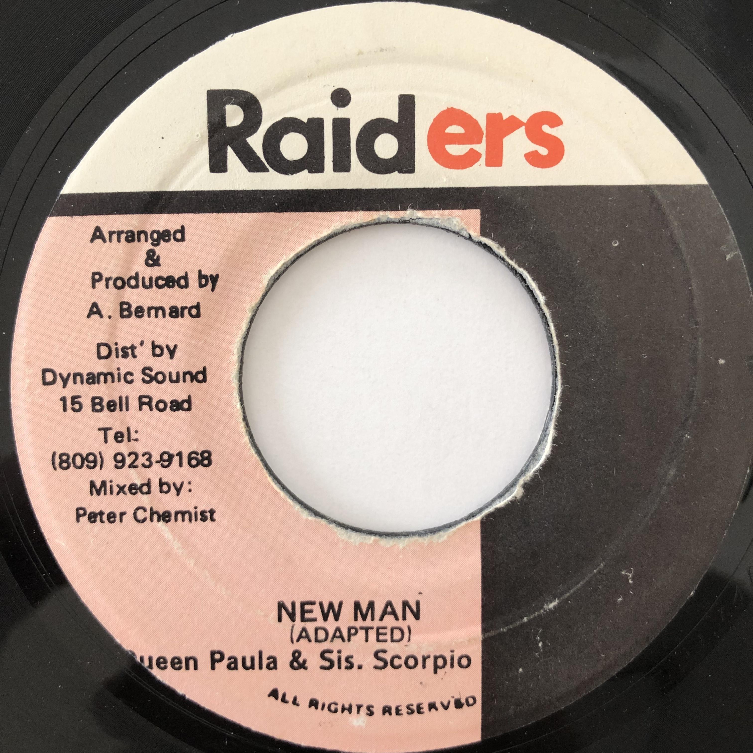 Queen Paula & Sis. Scorpio – New Man【7-20065】