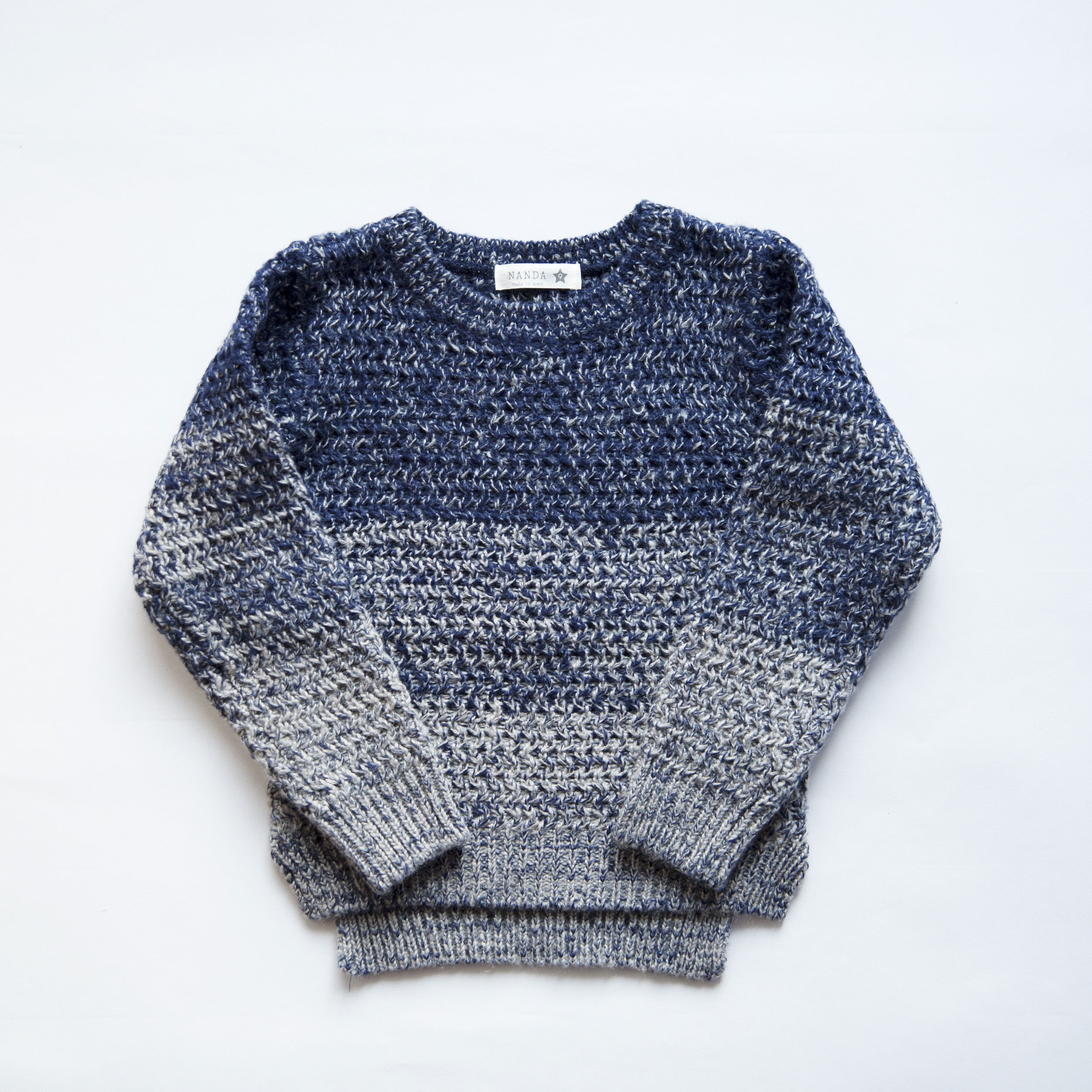 knitted(ブルー)