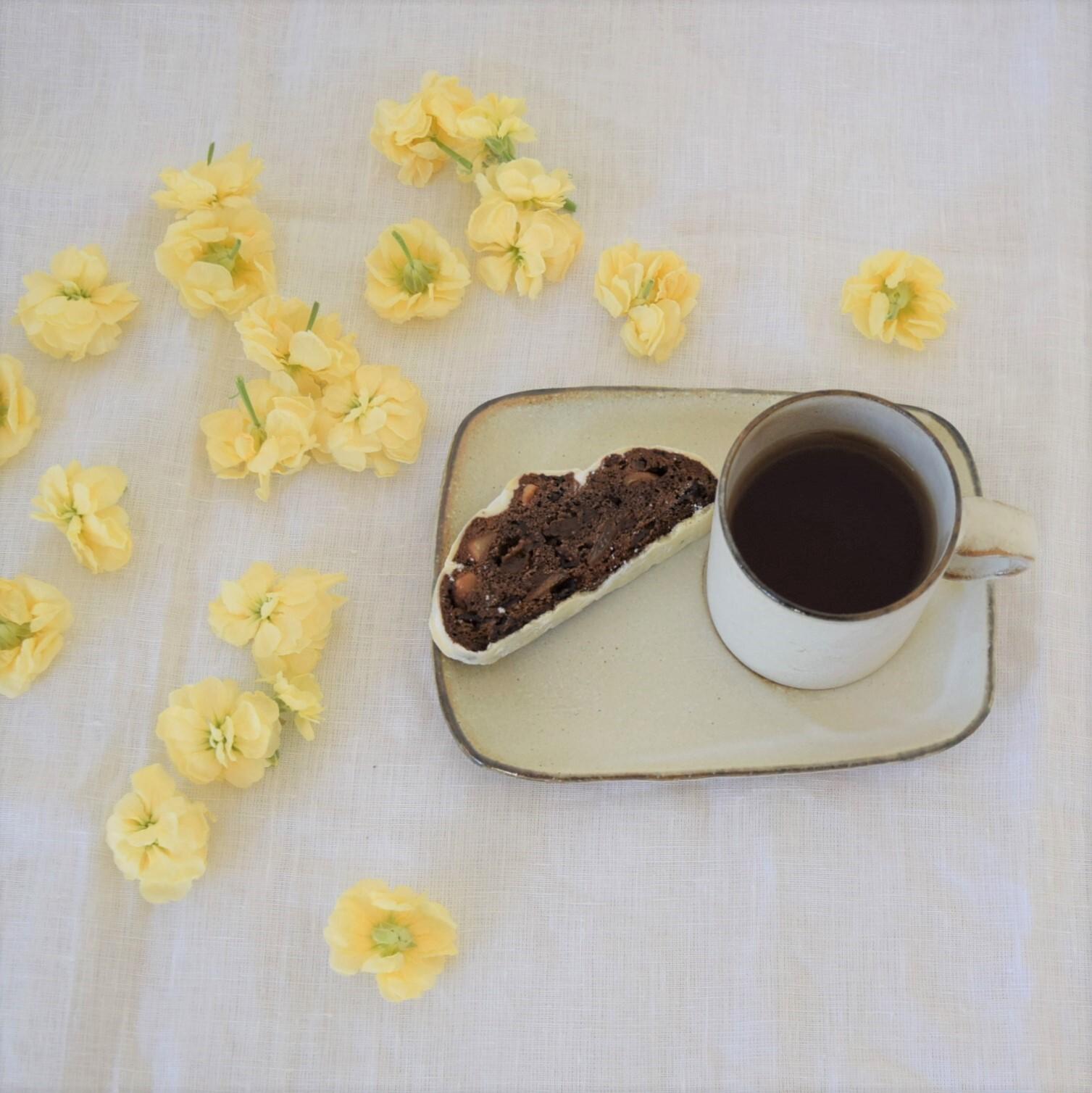 【studio m'】お茶とおやつ皿のスペシャルセット_B