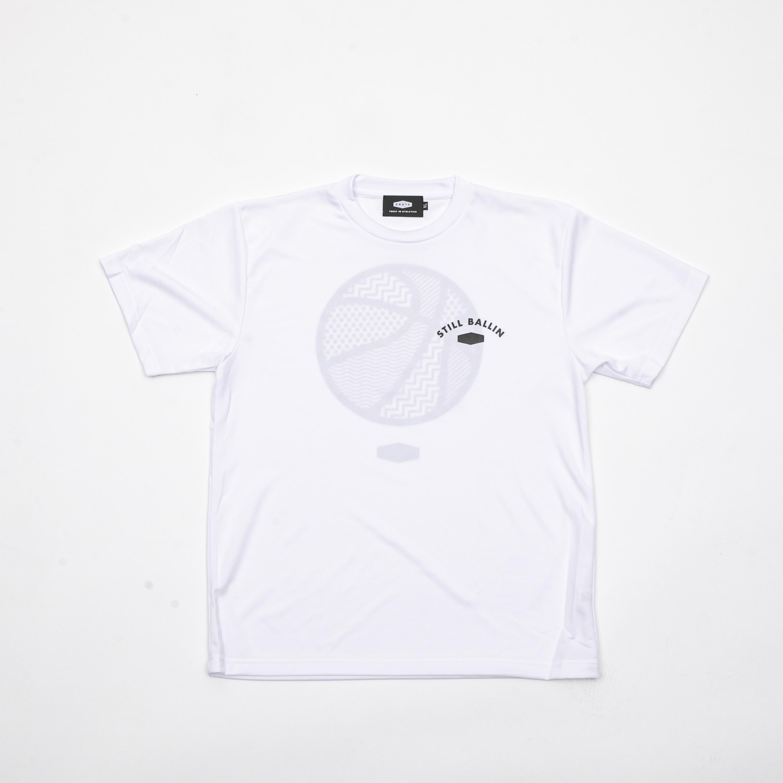 STILL BALLIN MESH T-SHIRTS WHITE