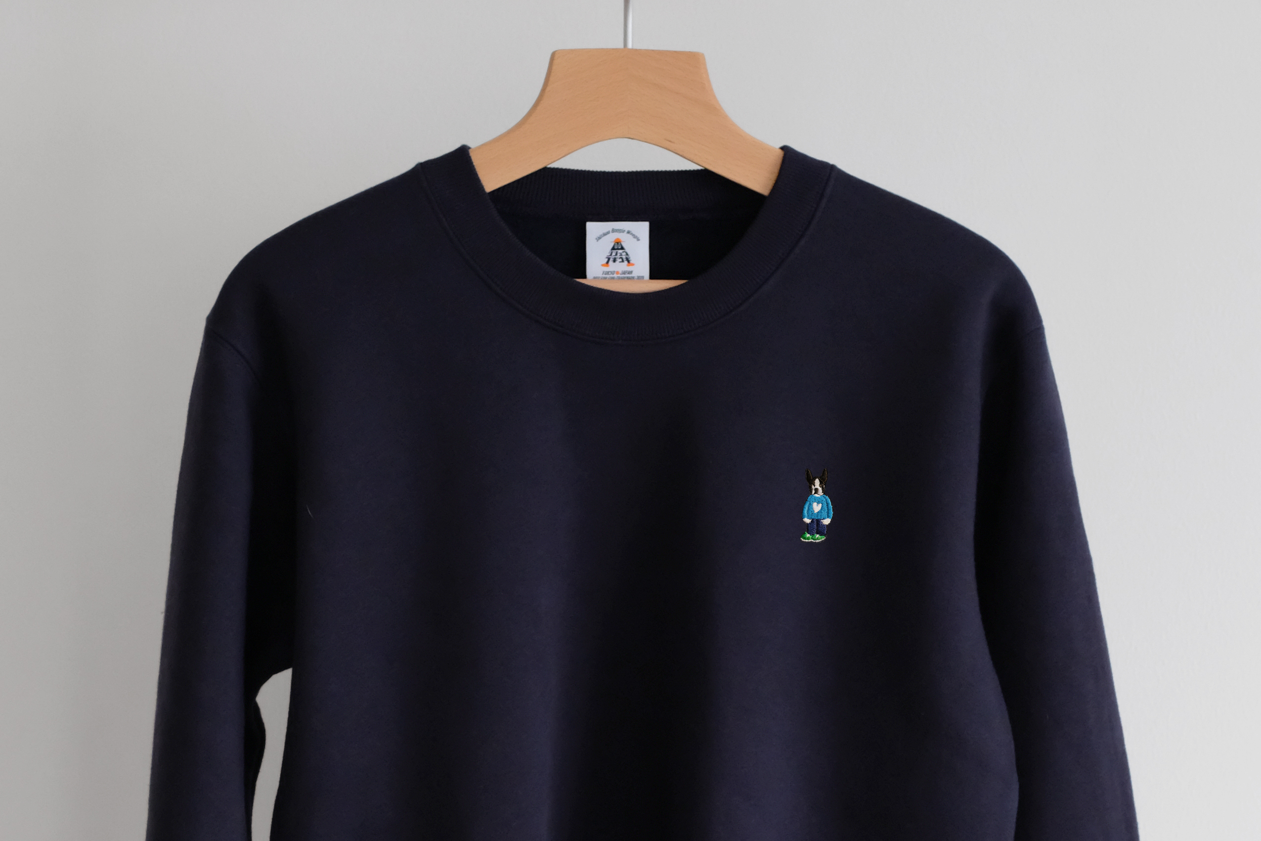 Boston Crewneck Sweat[Navy]