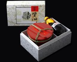 3㎏樽味噌・美濃焼徳利セット А-3