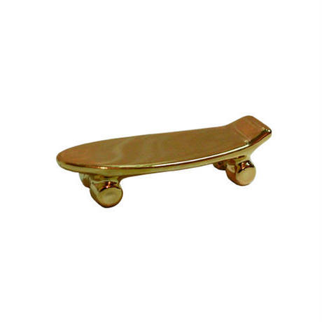 Pika Pika Skateboard chopstick rest (gold)【LABEL】