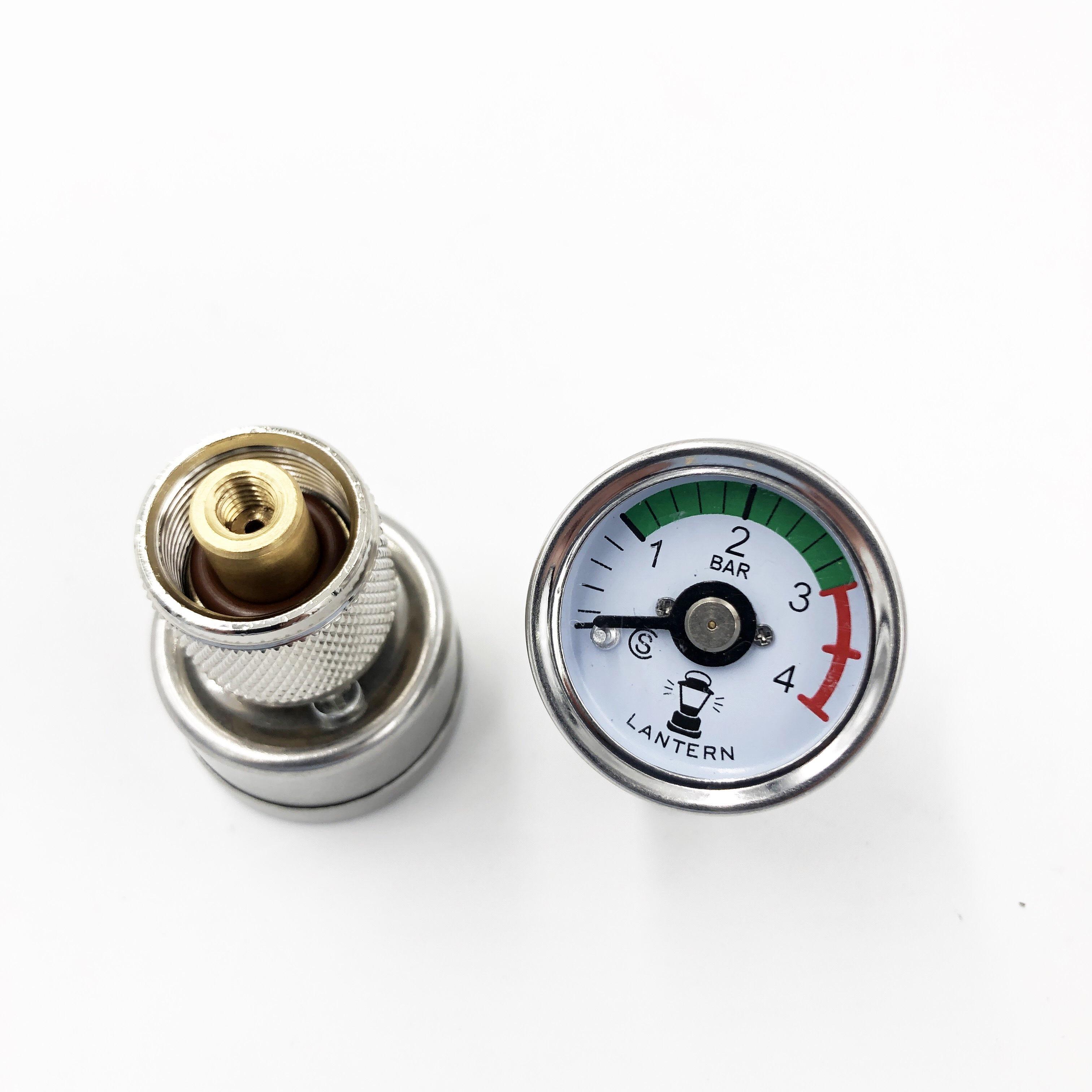 242・243・247・249専用!コールマンランタン用圧力ゲージ・圧力計付きフィラーキャップ ランタン用圧力計 (スモール)