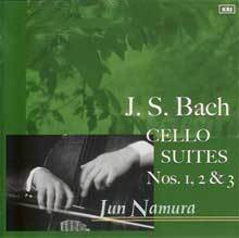 J.S. バッハ/無伴奏チェロ組曲 第1番、第2番、第3番 /南村潤(チェロ)