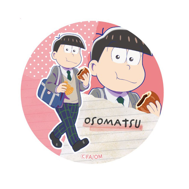 【4589839342384】えいがのおそ松さん/【描き下ろし】おそ松缶バッジ