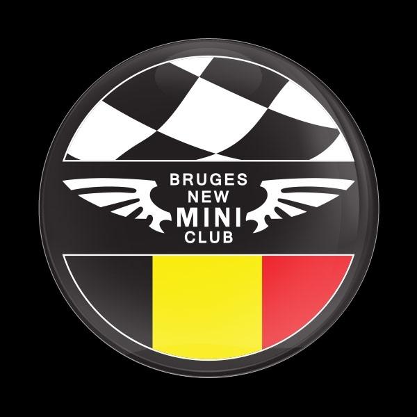 ゴーバッジ(ドーム)(CD0837 - CLUB BRUGES NEW MINI) - 画像1