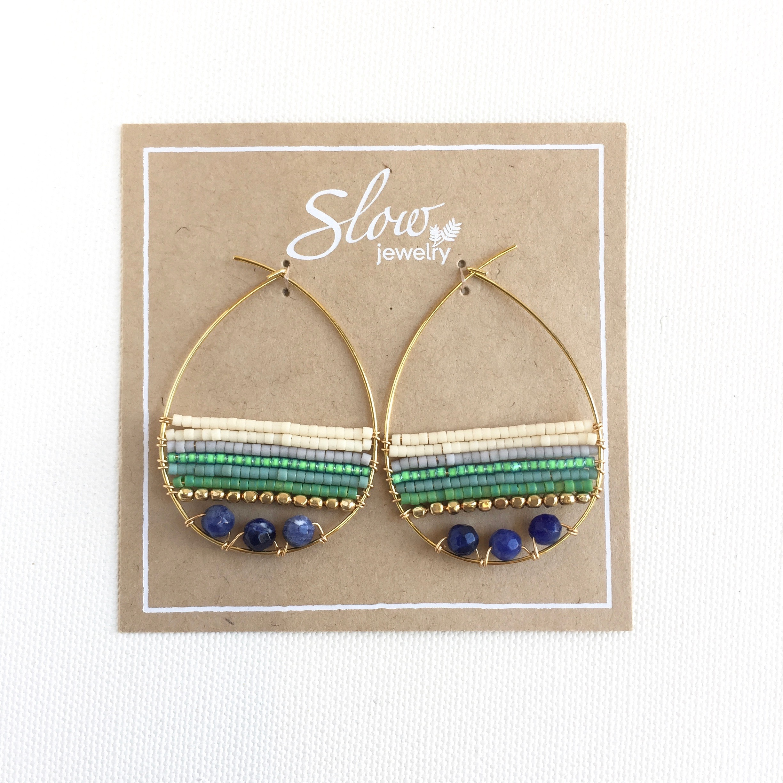 【Slow jewelry】ピアス P-2-3