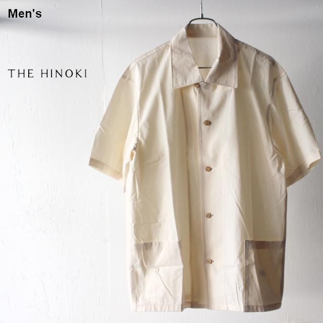 THE HINOKI コットンボイルパラシュートクロスHSシャツ TH19S-11 (ナチュラル)
