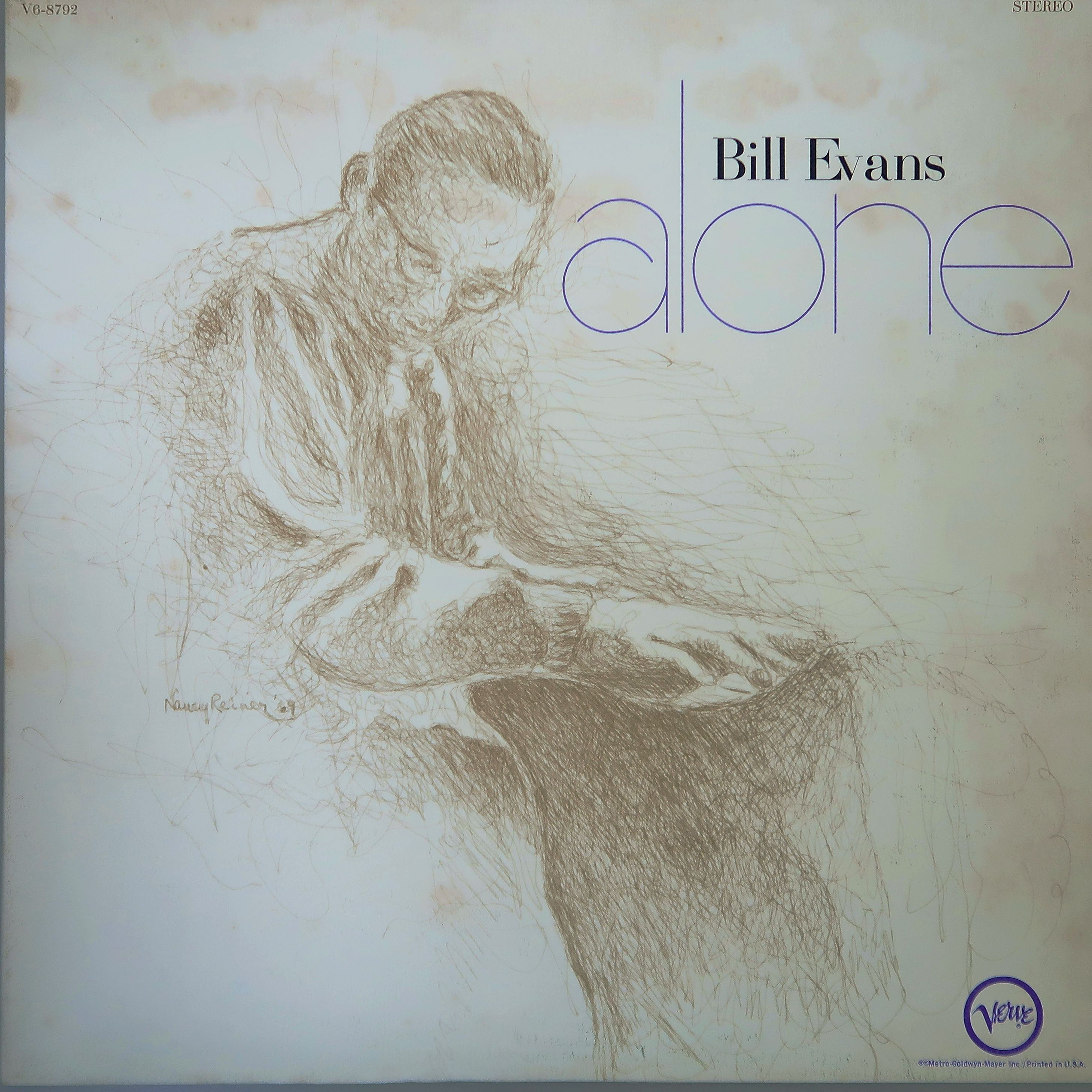BILL EVANS / ALONE 米オリジナル