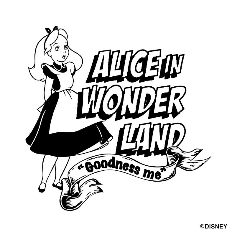 【ディズニーキャラクター】アリス/Tee