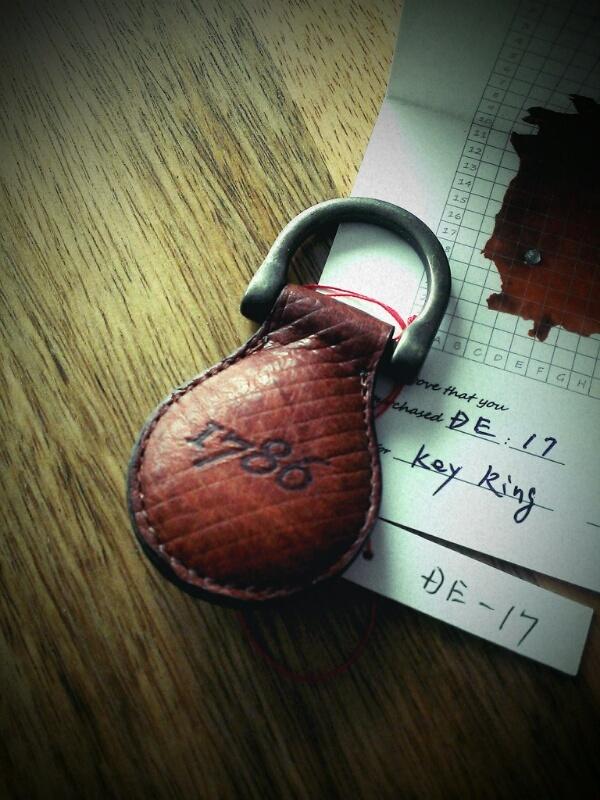 1786 Key Ring DE-17
