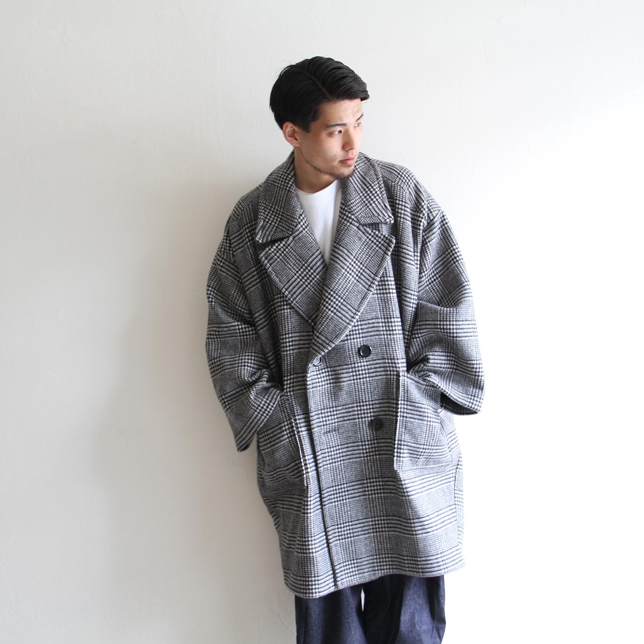 IS-NESS【 mens 】big coat