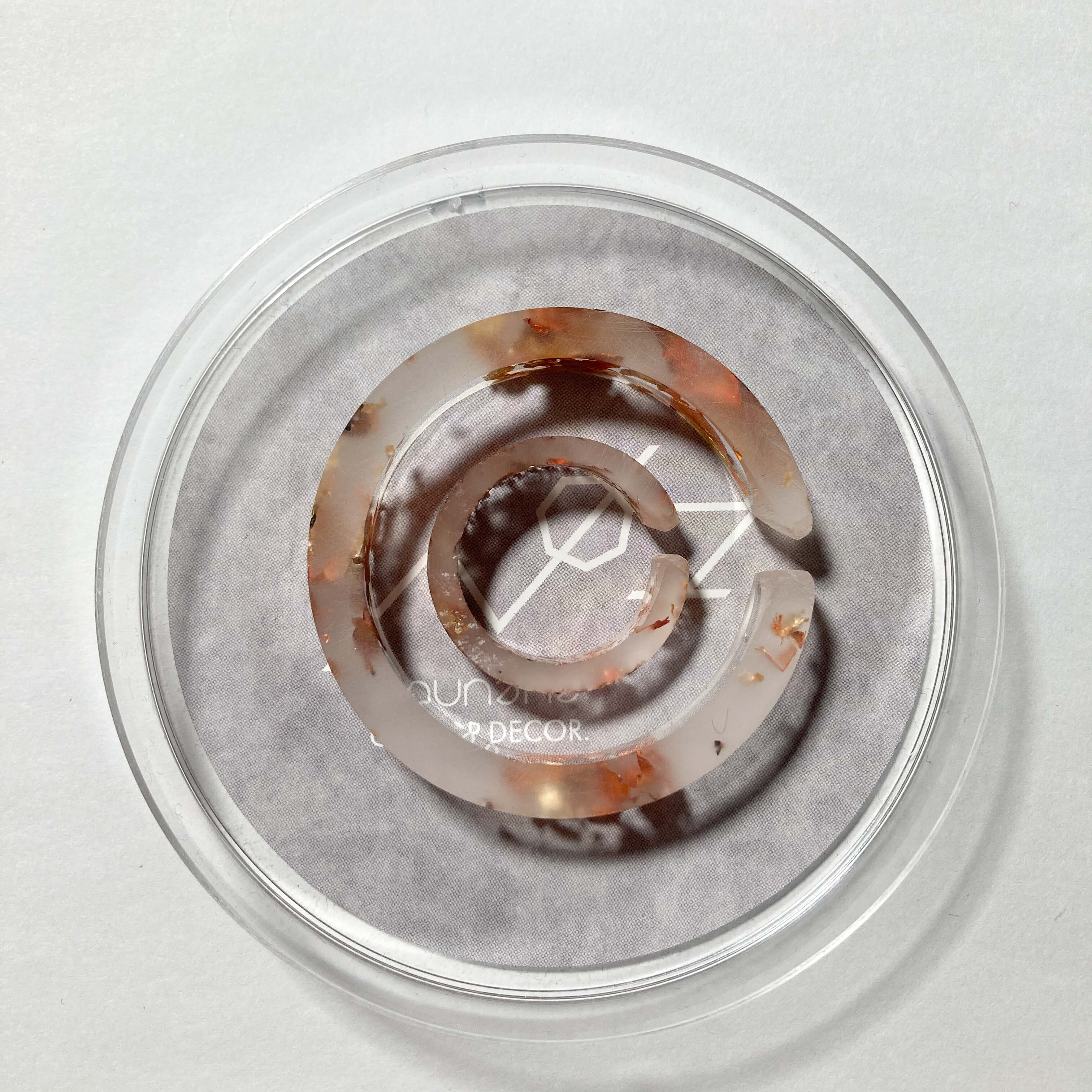 CHEWING GUM CUFF Circle × mini / クリアカッパー