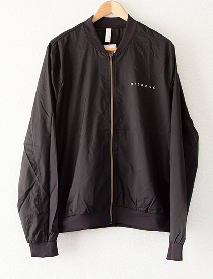 【THE PLOT IN YOU】Dispose Bomber Jacket (Black)