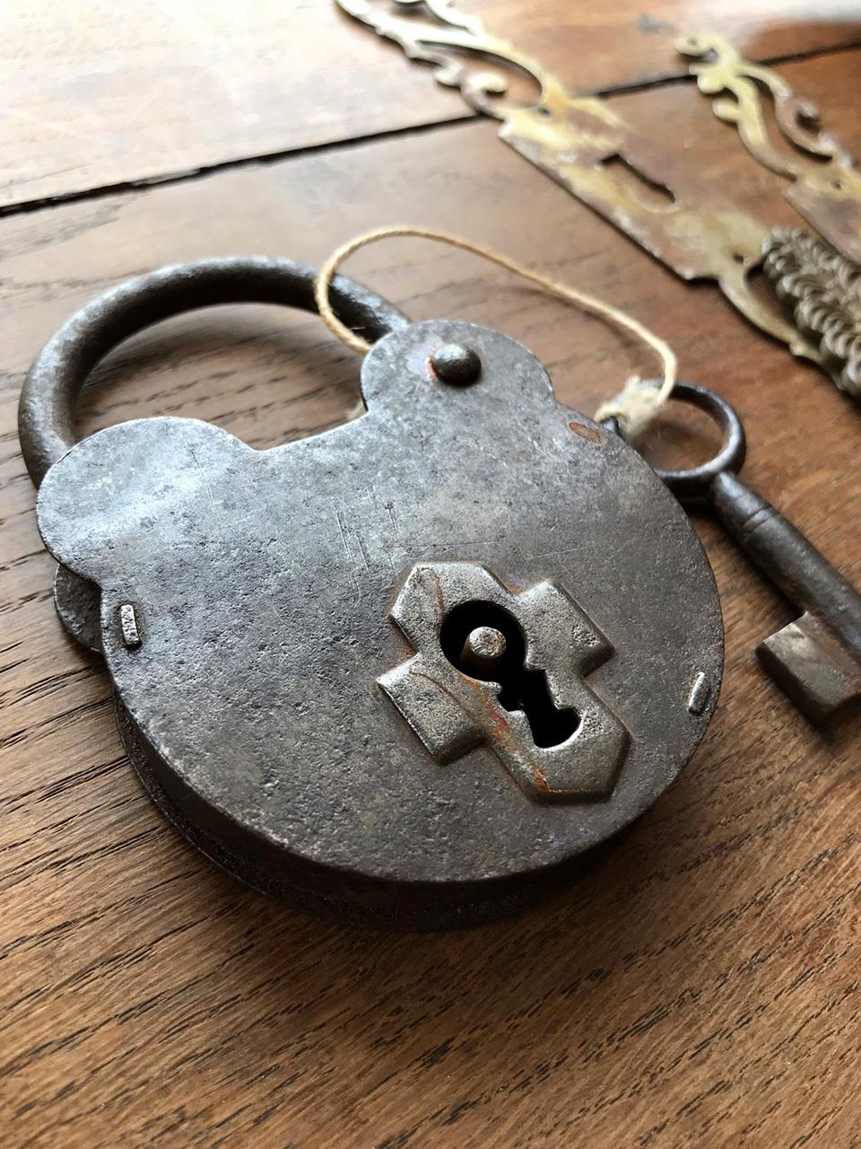 南京錠 パドロックキー くま型