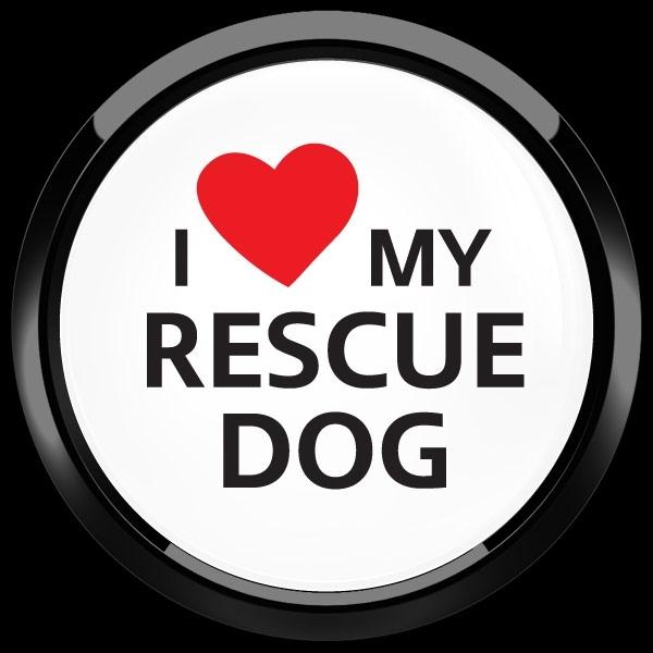 ゴーバッジ(ドーム)(CD1077 - I LOVE RESCUE DOG) - 画像2