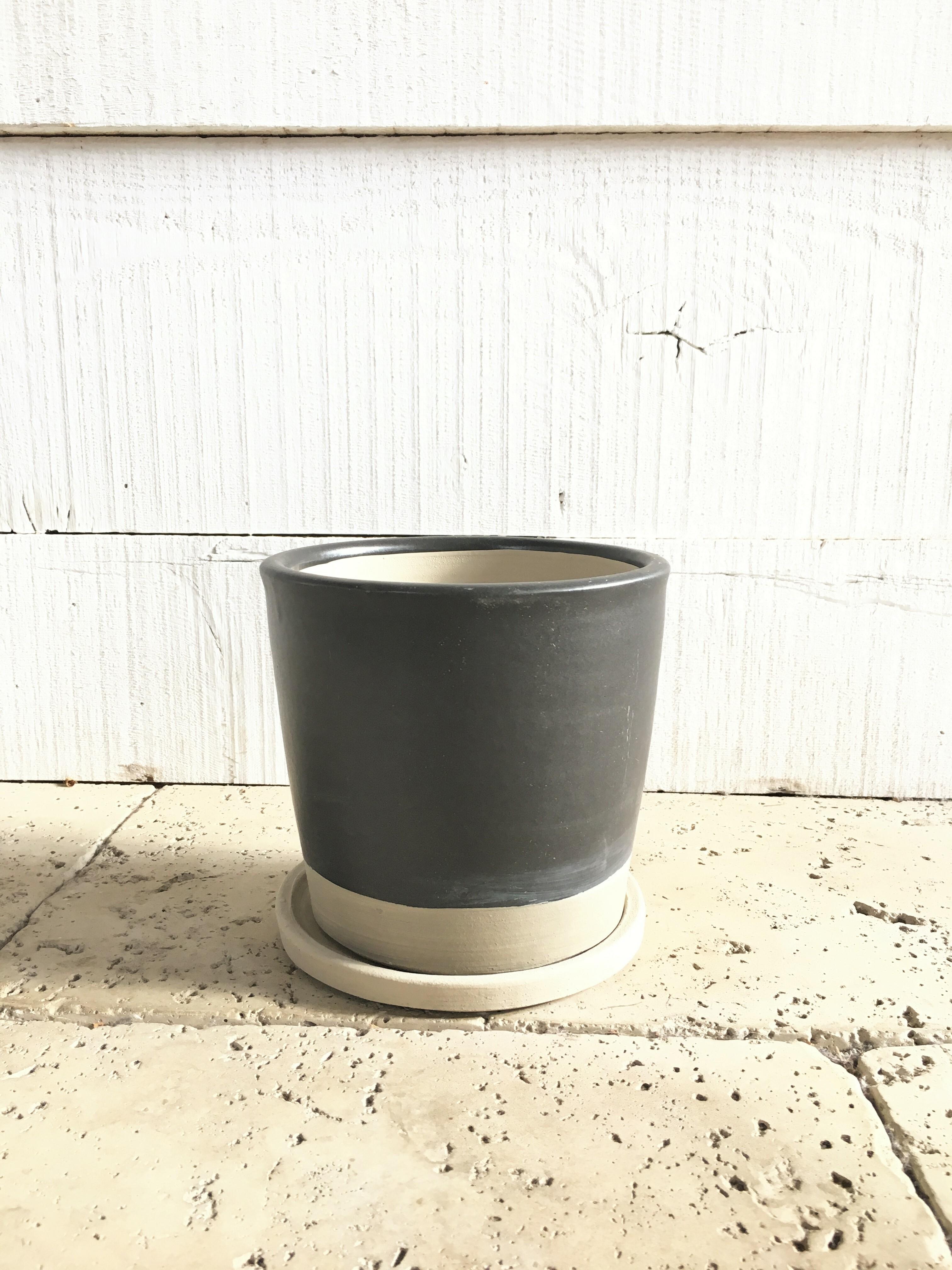 テラコッタ ブラック鉢 ※5号鉢サイズ