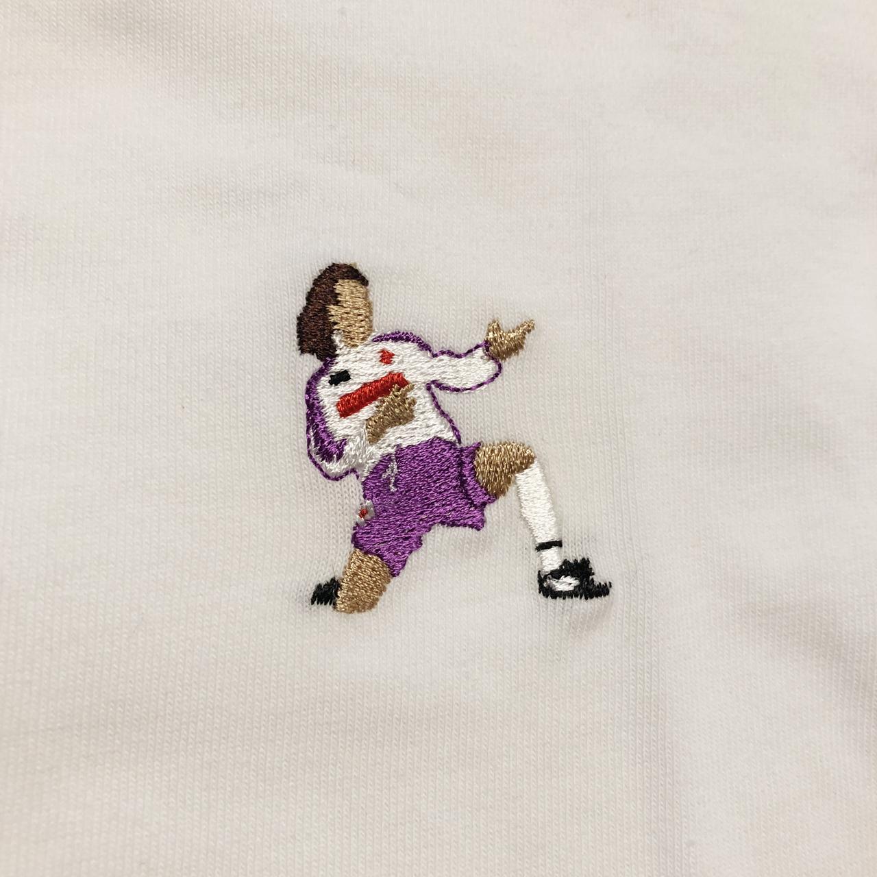 マシンガンTシャツ刺繍半袖 / ホワイト | SINE METU - シネメトゥ