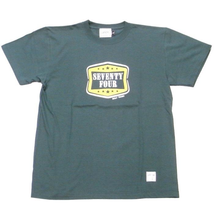 SEVENTY FOUR(セブンティーフォー) /  LOGO T-SHRIT(STF19SF9)(Tシャツ)