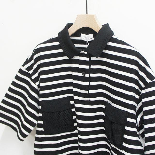 RaPPELER ラプレ 超長綿天竺ボーダーポロ WH×BK レディース ポロシャツ 半袖 ボーダー 通販 (品番rk191-02203)