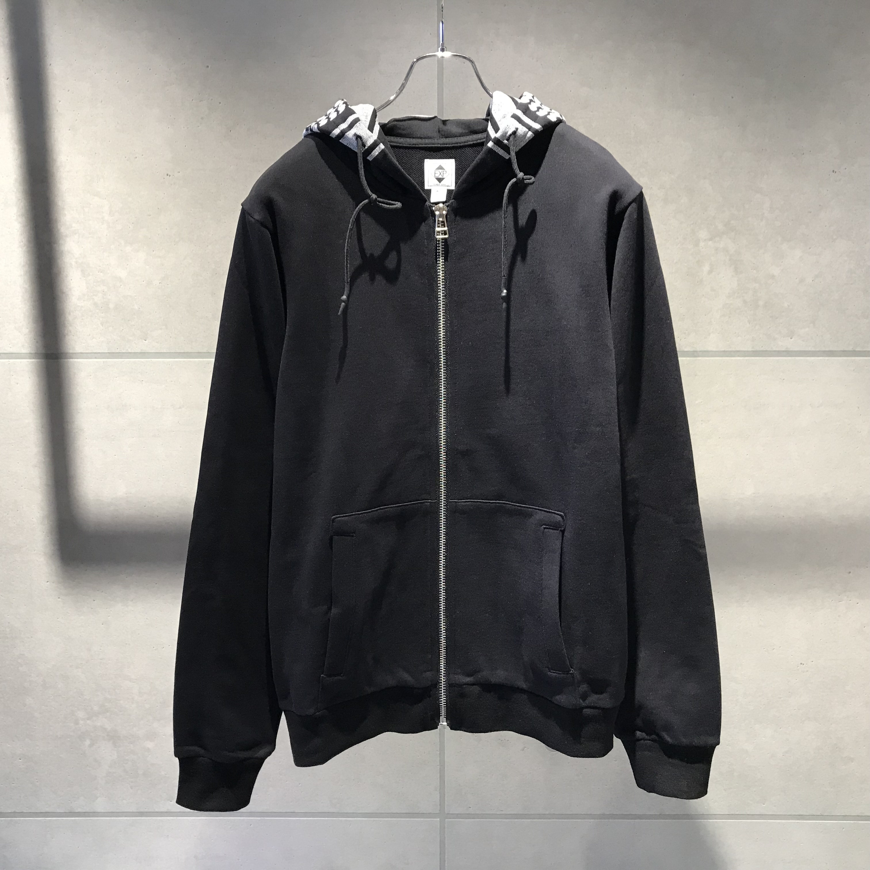EXPANSION 83SW SHEMAGH SWEAT SHIRTS / BLACK